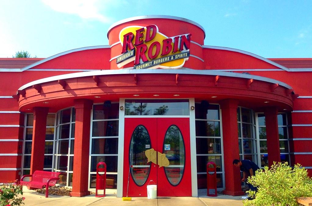 Red Robin restaurant entrance